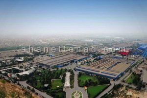تیر آهن کارخانه فولاد خوزستان