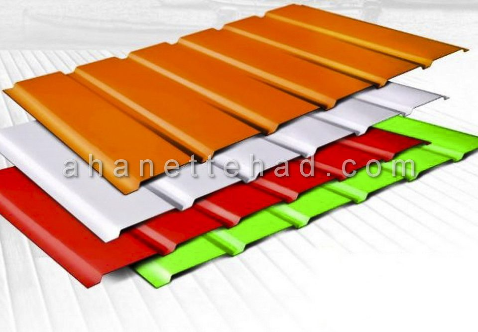 جدول وزن ورق رنگی